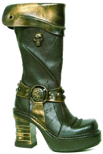 Стимпанк-обувь от Pennangalan