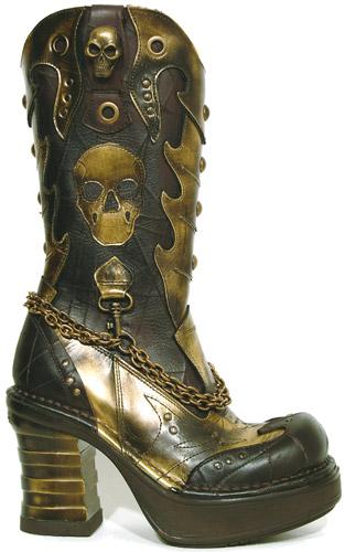 Стимпанк-обувь от Pennangalan (Фото 2)