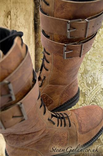 Стимпанк-обувь от Pennangalan (Фото 4)