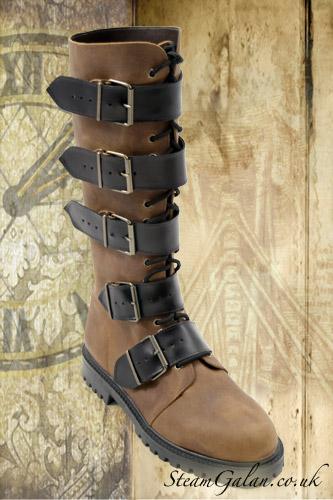 Стимпанк-обувь от Pennangalan (Фото 5)