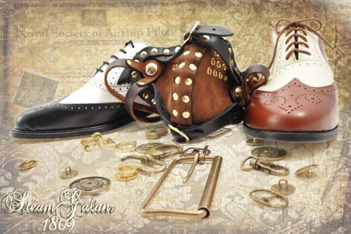 Стимпанк-обувь от Pennangalan (Фото 6)